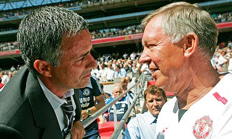 Sir Alex Ferguson and José Mourinho